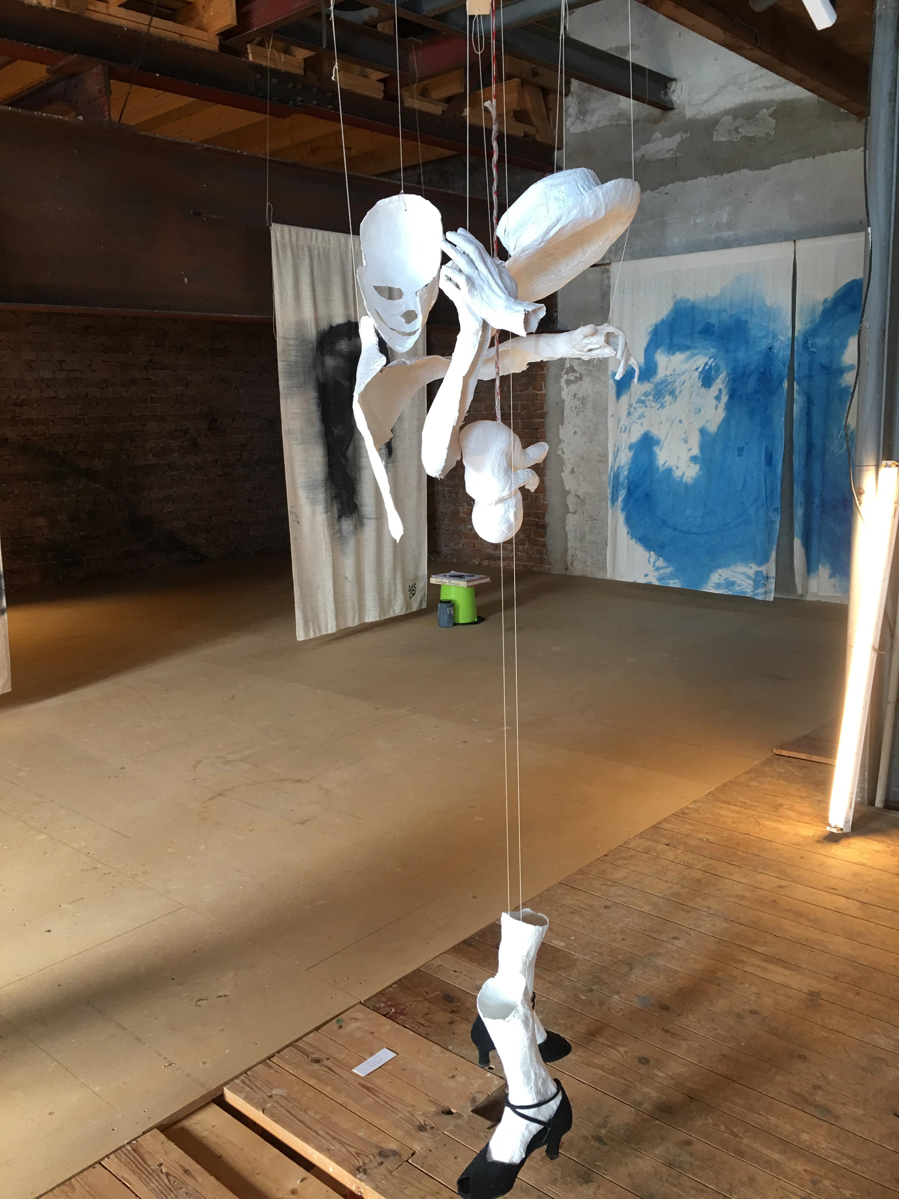 Tango skulptur av Linn