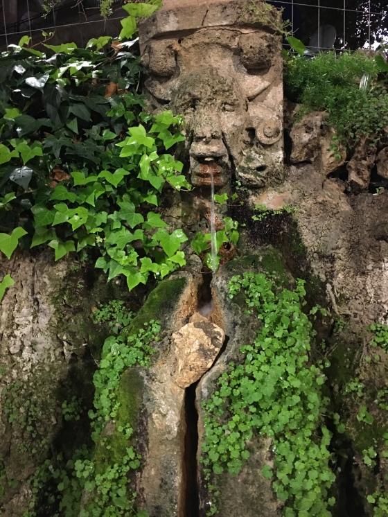Vatten, skulptur, Palma
