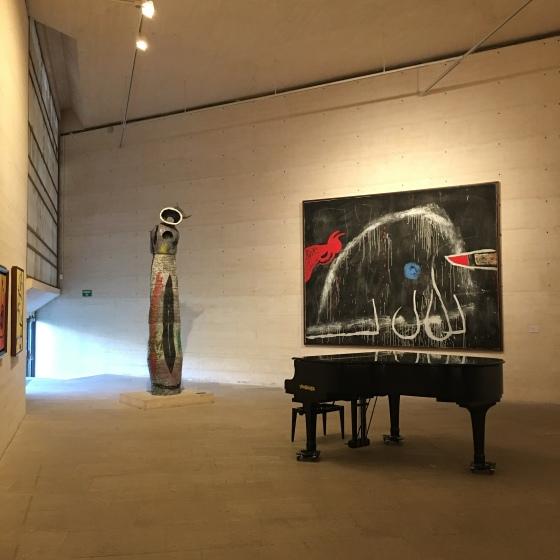 På fundacio Joan Miro