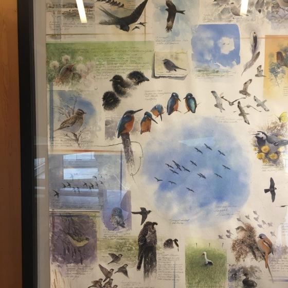 Gebbes stora fågelbild