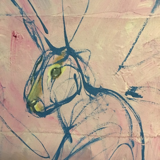 Hare by Ganga